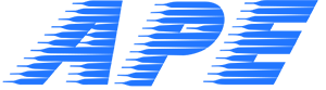 Blaues APE Logo Allgemeiner Personal Express Gifhorn